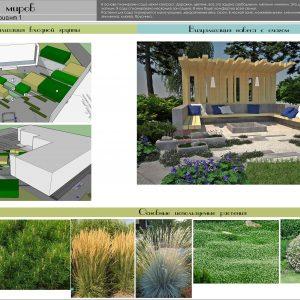 Сад для жизни. Визуализация. Растения. .